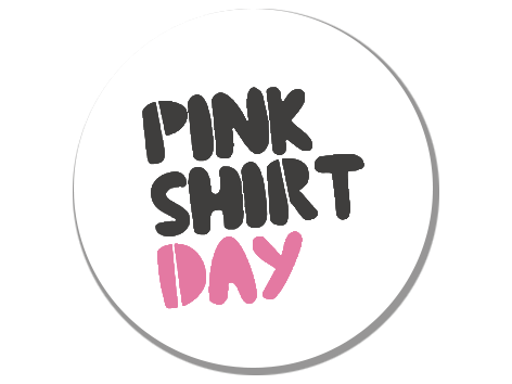 Pink Shirt Day white